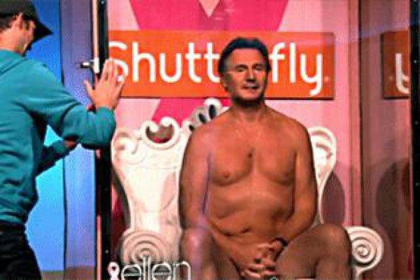 Голливудский артист Лиам Нисон остался без трусов (фото)