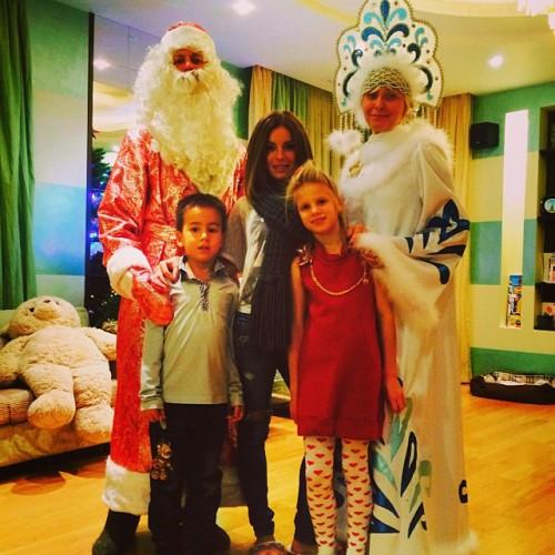 Юлия Волкова показала фото своих детей