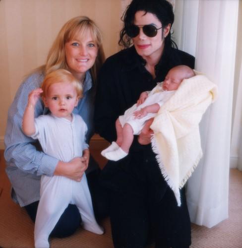 Майкл Джексон, Дебби Роу и их дети