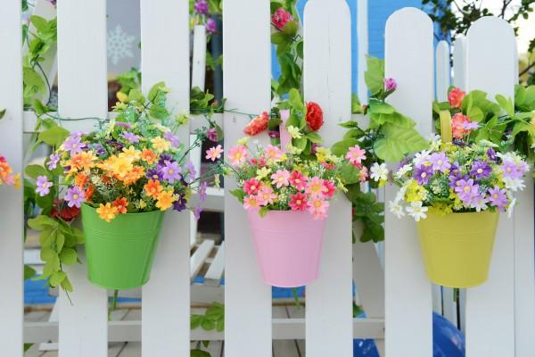 Как декорировать цветочный горшок