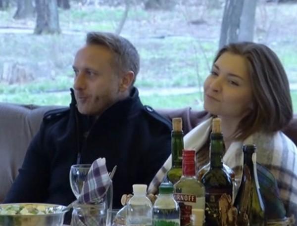 Ларсон с супругой Мариной