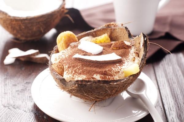 Ананасово-кокосовый десерт