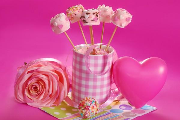 Конфеты на День святого Валентина