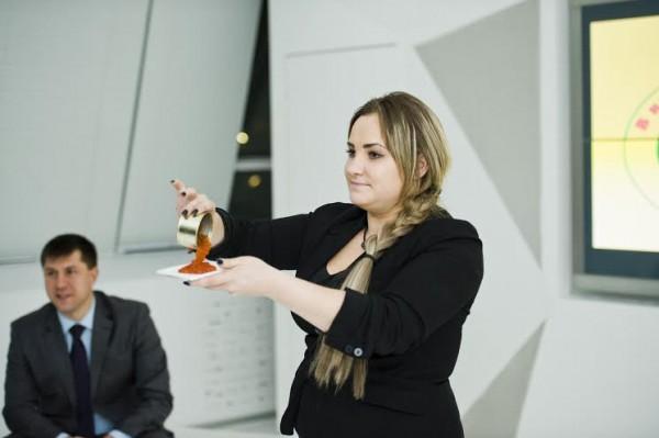 Валерия Лаптева, специалист по качеству красной икры