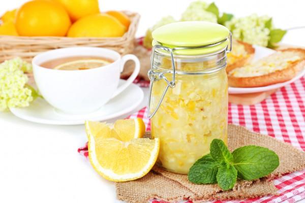 Домашнее варенье из лимонов