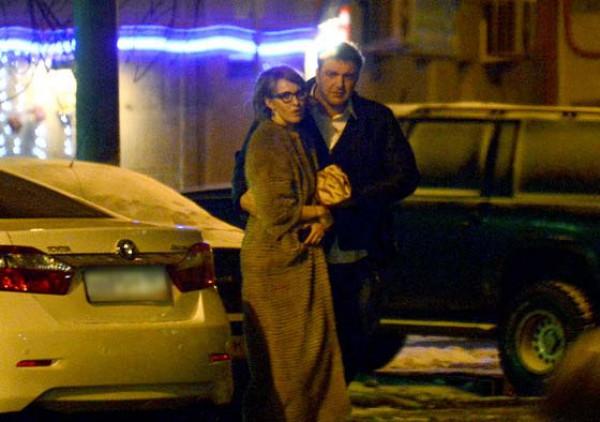 Журналисты утверждают, что Ксения Собчак и Максим Виторган провели ночь вместе