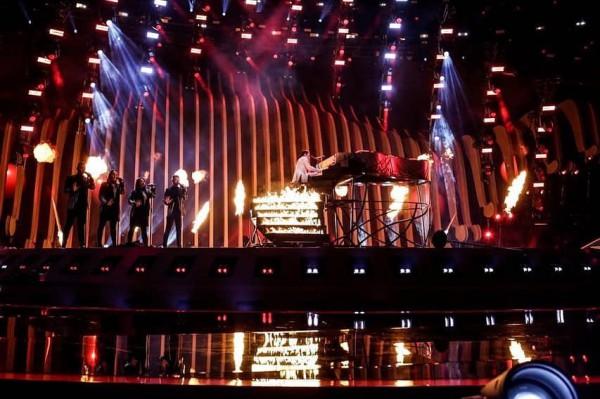 Выступление MELOVIN в полуфинале Евровидения 2018