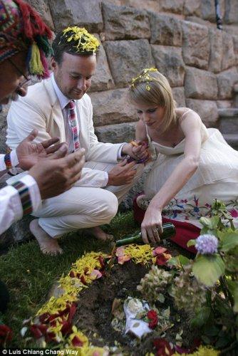 Свадебная церимония в Перу