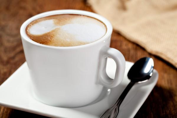 Кофе с медом и малиновым соком