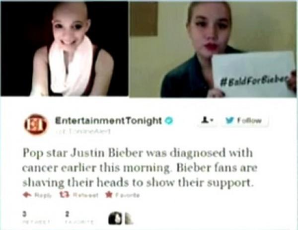 В интернете вышли некоторые слухи, что у Джастина Бибера рак