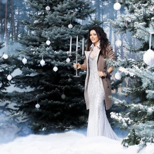 Ани Лорак снялась в новогодней фотосессии