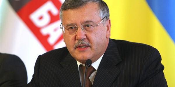 Украинский политик Анатолий Гриценко