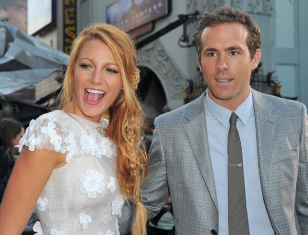 Блейк Лавли с мужем Райаном Рейнольдсом