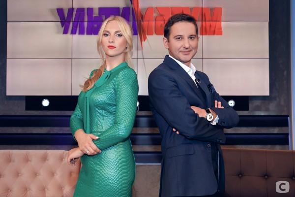 Юлия Бортник и Валерий Ославский