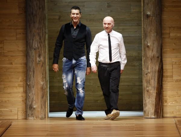 Доменико Дольче (справа) и Стефано Габбана обвиняют в неуплате налогов
