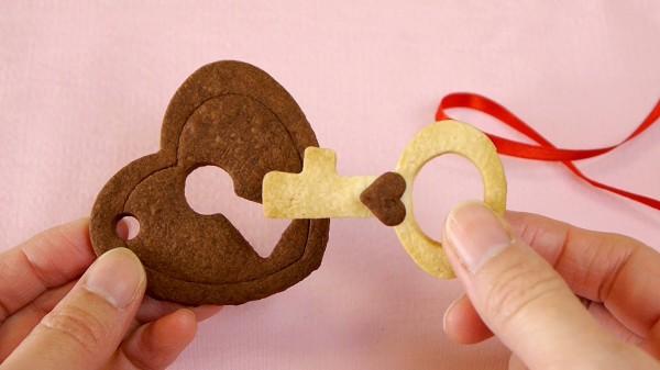 Печенье сердечки на День святого Валентина