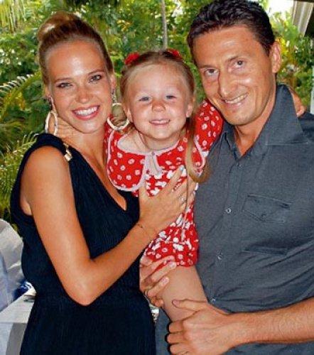 Глюкоза с мужем и старшей дочкой