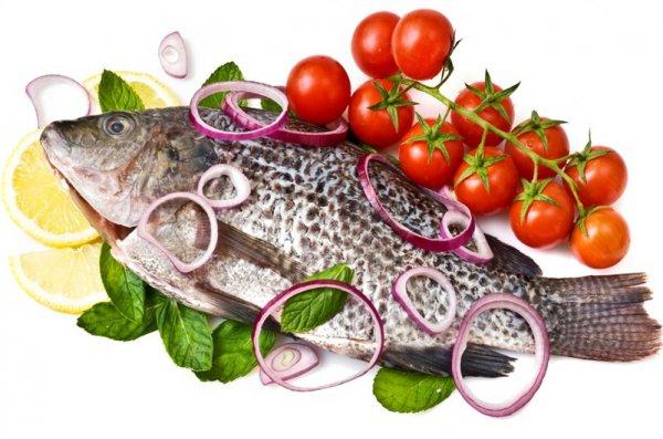 Рыба с картофелем и сыром под соусом Бешамель