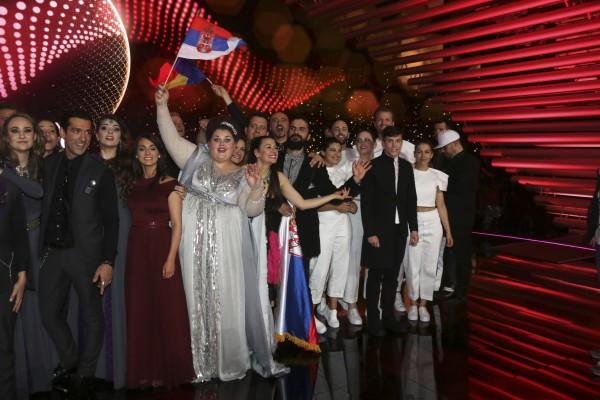 Евровидение 2015: Результаты первого полуфинала