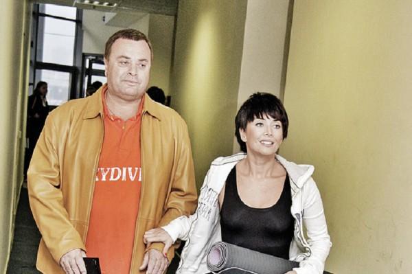 Владимир Борисович Фриске с дочкой Жанной