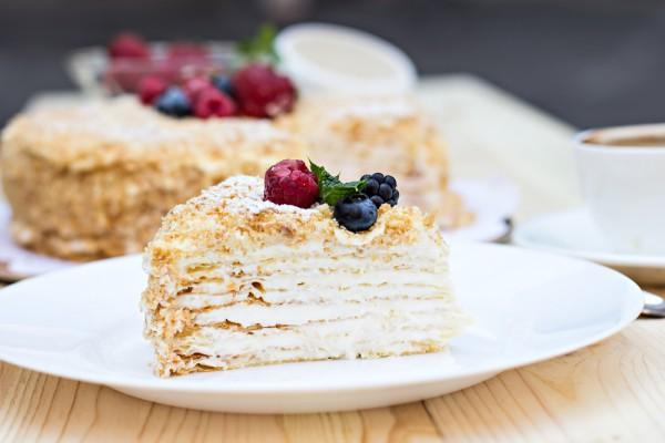 Торт Наполеон на Новый год