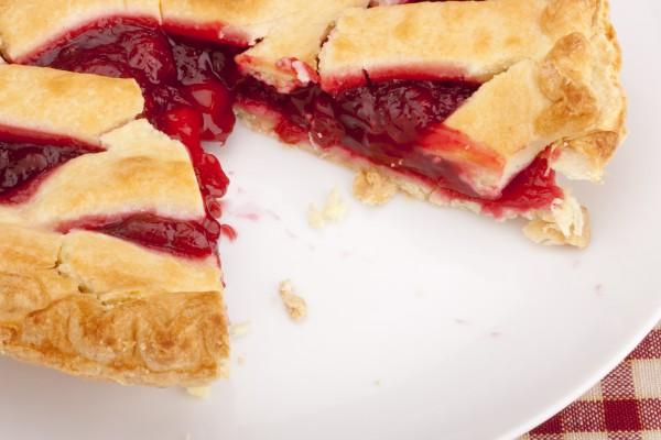 Рецепт                  Клюквенно-вишневый пирог