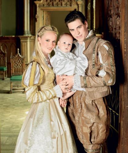 Дмитрий Дюжев с женой Татьяной и со старшим сыном Иваном