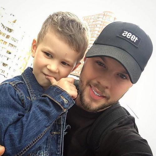 Егор Глеб с сыном
