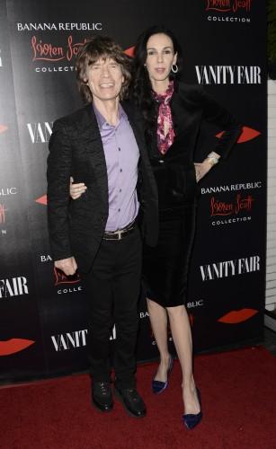 Лорен Скотт и Мик Джаггер встречались с 2001 года