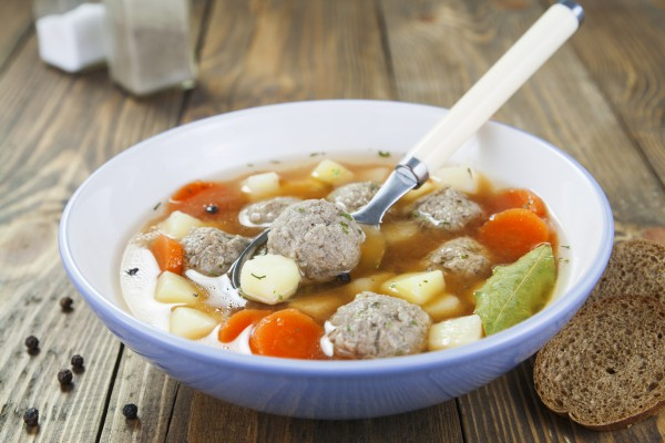 сколько варятся в супе фрикадельки
