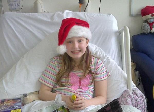 Милли-Энн провела Рождество в больнице
