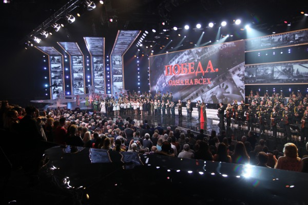 Украинские звезды выступили на концерте ко Дню Победы на канале Интер