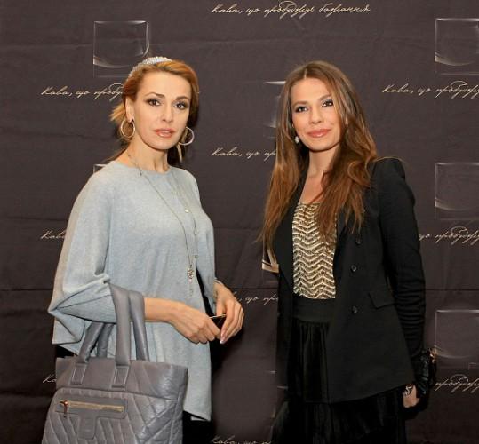 Ольга Сумская (экс-жена Паперного) с его дочкой Антониной
