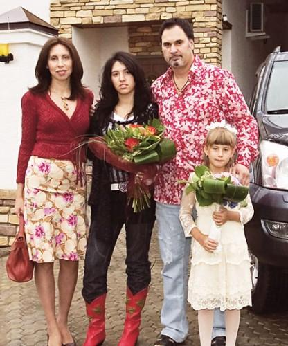 Семья Валерия Меладзе