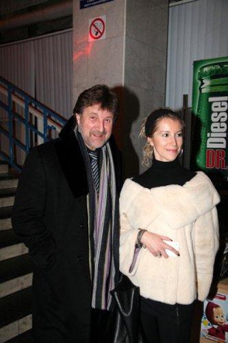 Леонид Ярмольник с дочкой Александрой