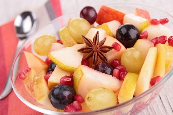 Рецепт                  Осенний фруктовый салат