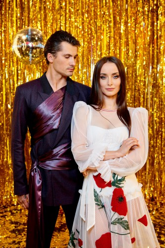 Ксения Мишина и Женя Кот