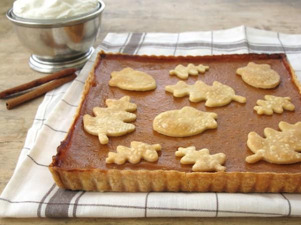 Рецепт                  Старомодный тыквенный пирог на День благодарения