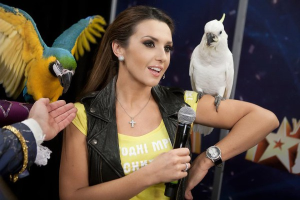 Оксана Марченко – ведущая шоу Х-фактор