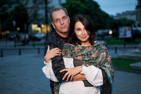 Наталья Мосейчук с мужем Ильей