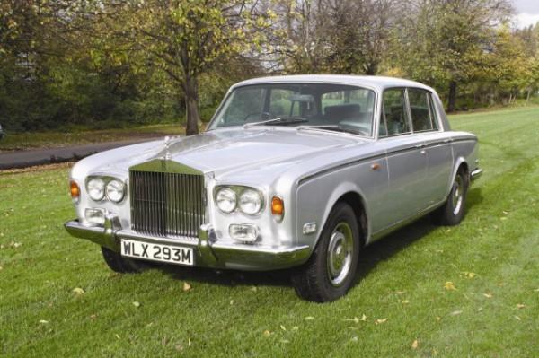 Rolls-Royce Silver Shadow 1974 года выпуска