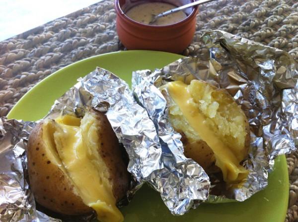 Картофель в фольге со специями
