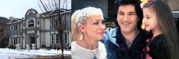 Известный певец Авраам Руссо больше 5 лет живет в США со своей женой Морэлой и дочкой Эмануэль