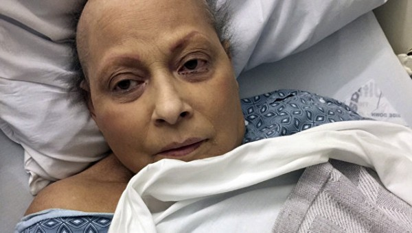 Ева Эчеверриа считает, что заболела из-за детской присыпки