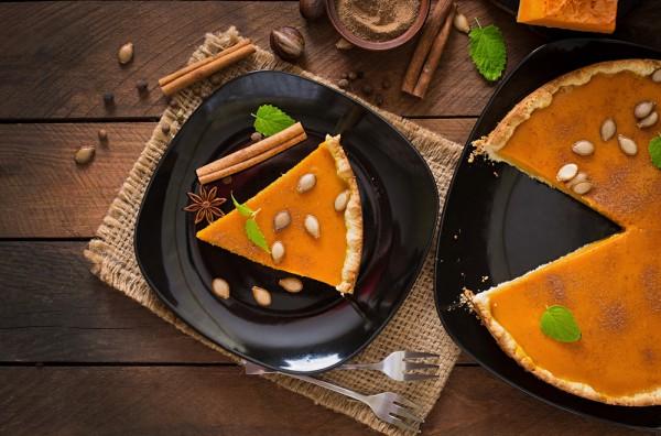 Тыквенный пирог: фото