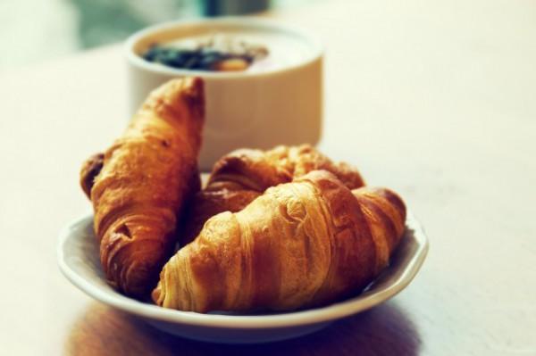 Постный завтрак: круассаны с корицей