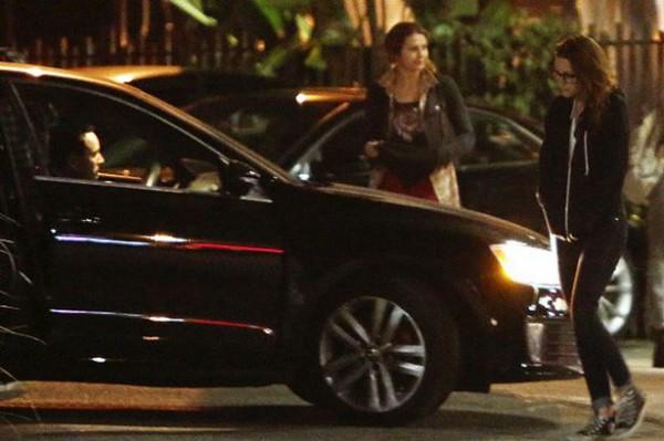 У Руперта Сандерса такой же автомобиль, как тот, на котором Кристен Стюарт уехала из ресторана