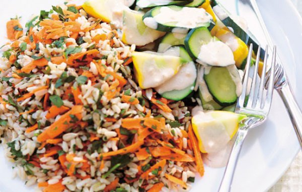 Салаты из капусты моркови и свеклы для