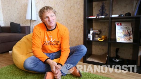 Комедийный актер Сергей Писаренко