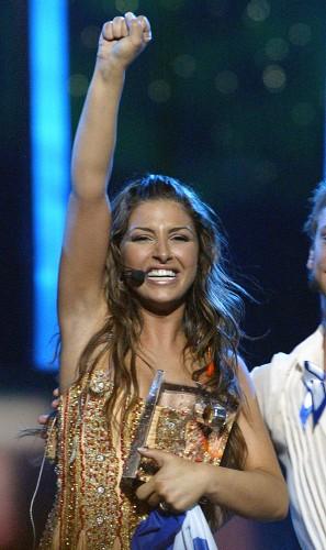 Елена Папаризу – победительница конкурса Евровидение в 2005